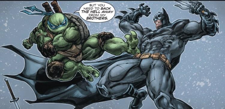 avis comics batman et les tortues ninja