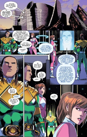 Powers rangers page 5