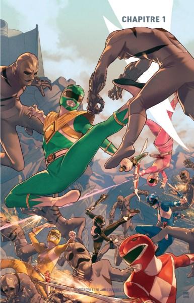 avis comics power rangers