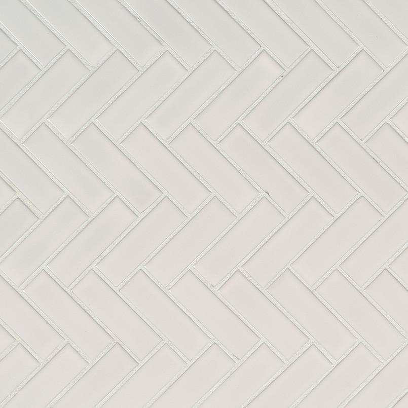 msi white glossy herringbone mosaic porcelain tile premium 13 80 sq ft ctn