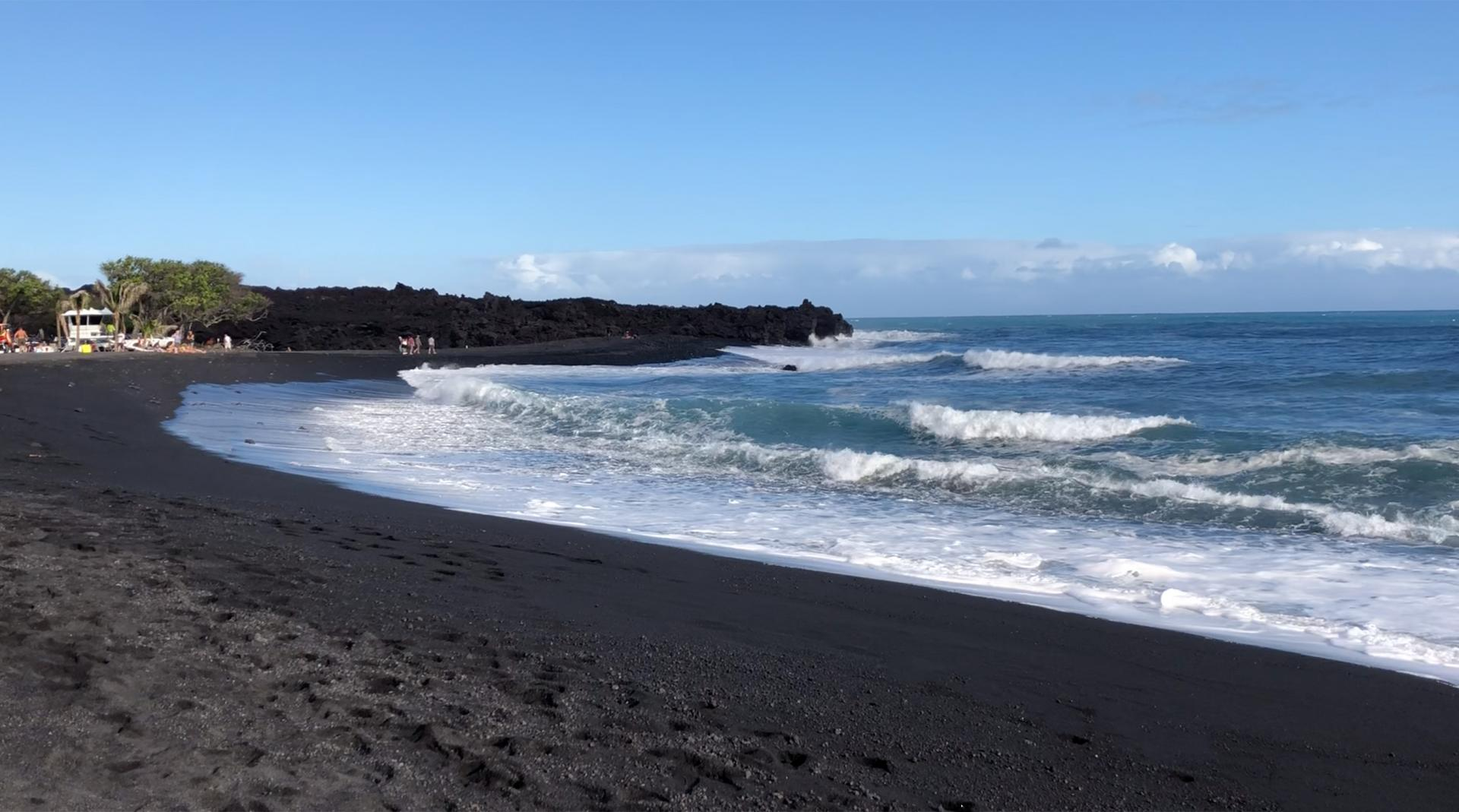Image result for pohoiki beach