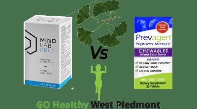 Prevagen vs Ginkgo vs Mind Lab Pro Go Healthy West Piedmont Review
