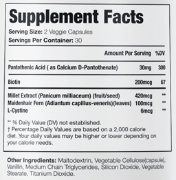 Profollica Plus Ingredients