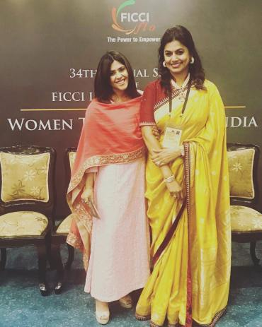 Ekta Kapoor Conferred with 'FICCI FLO Icon Award'
