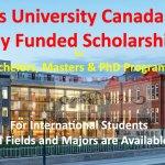 Queen's University Scholarships Canada 2021