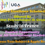 Initiative Excellence Scholarships for International Students