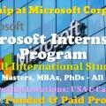 Microsoft Internship Program