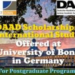 DAAD Scholarships for International Students