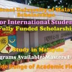 National University of Malaysia Scholarship