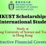 HKUST Scholarships for International Students