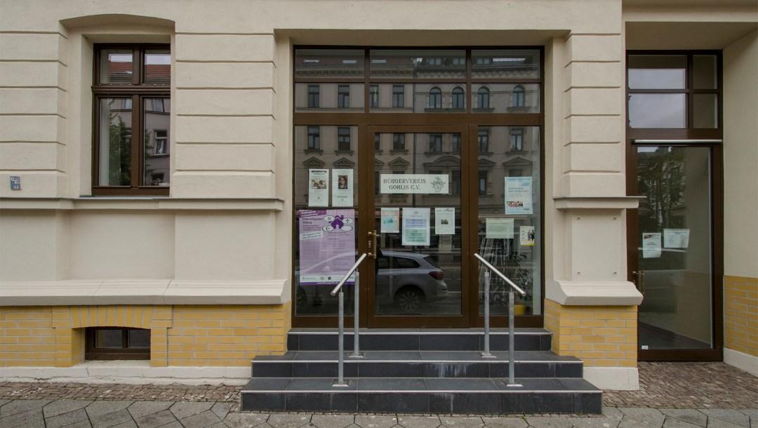 Bürgerverein Gohlis e. V., Lindenthalter Straße 34, 04155 Leipzig; Foto: Andreas Reichelt