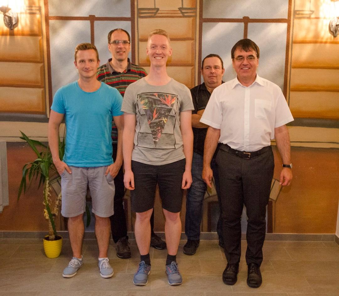 Der Vorstand des Bürgervereins Gohlis e. V.; Foto: Andreas Reichelt