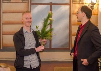 Verabschiedung unseres Vorstandsvorsitzenden Peter Niemann, der aus familiären und beruflichen Gründen nicht noch einmal antritt; Foto: Andreas Reichelt