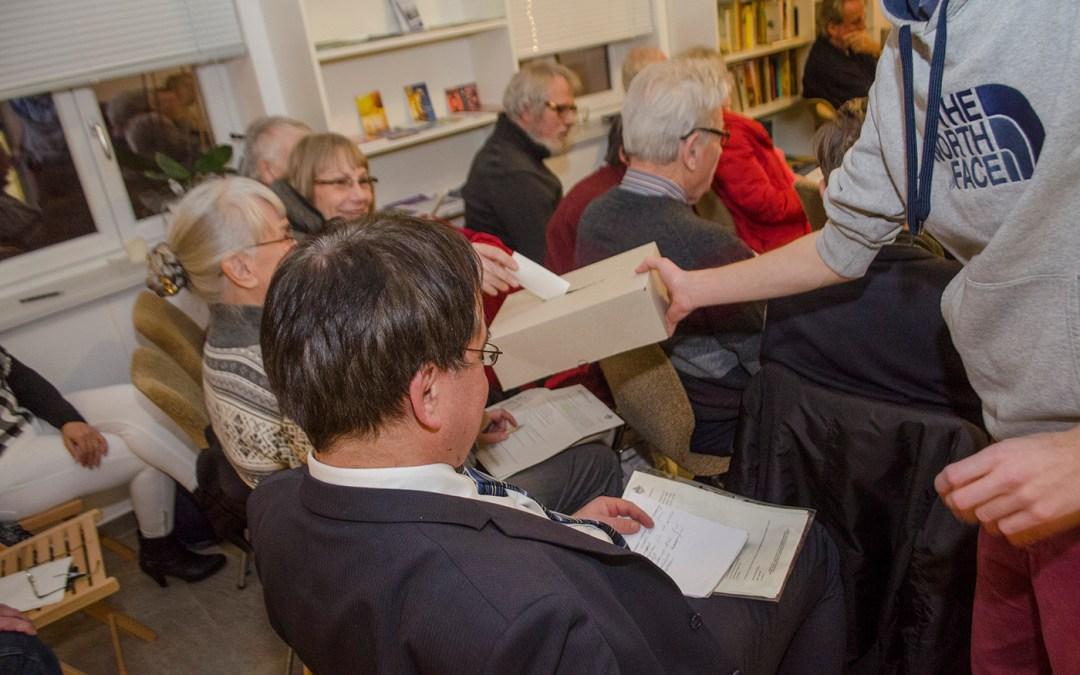 Wahl des neuen Vorsitzenden; Foto: Andreas Reichelt