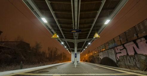 S-Bahn Station Leipzig Gohlis; Foto: Andreas Reichelt