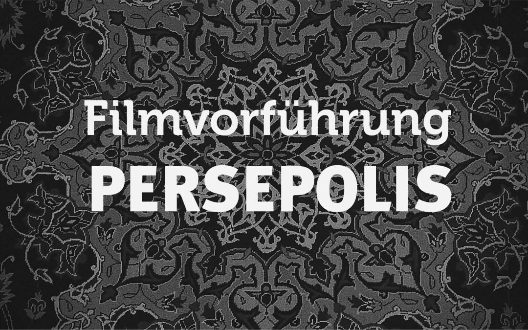 Filmvorführung – Persepolis (95 Min., FSK 12)