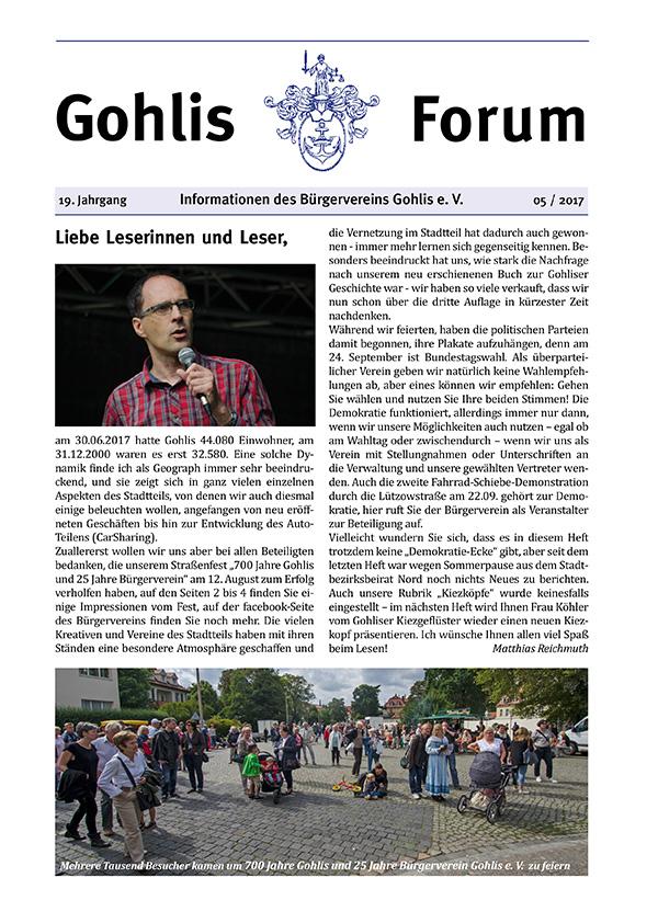 Gohlis Forum 05/2017