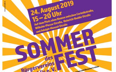 Bürgerverein Gohlis feiert Sommerfest 2019
