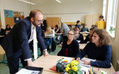 Schulleben in Gohlis