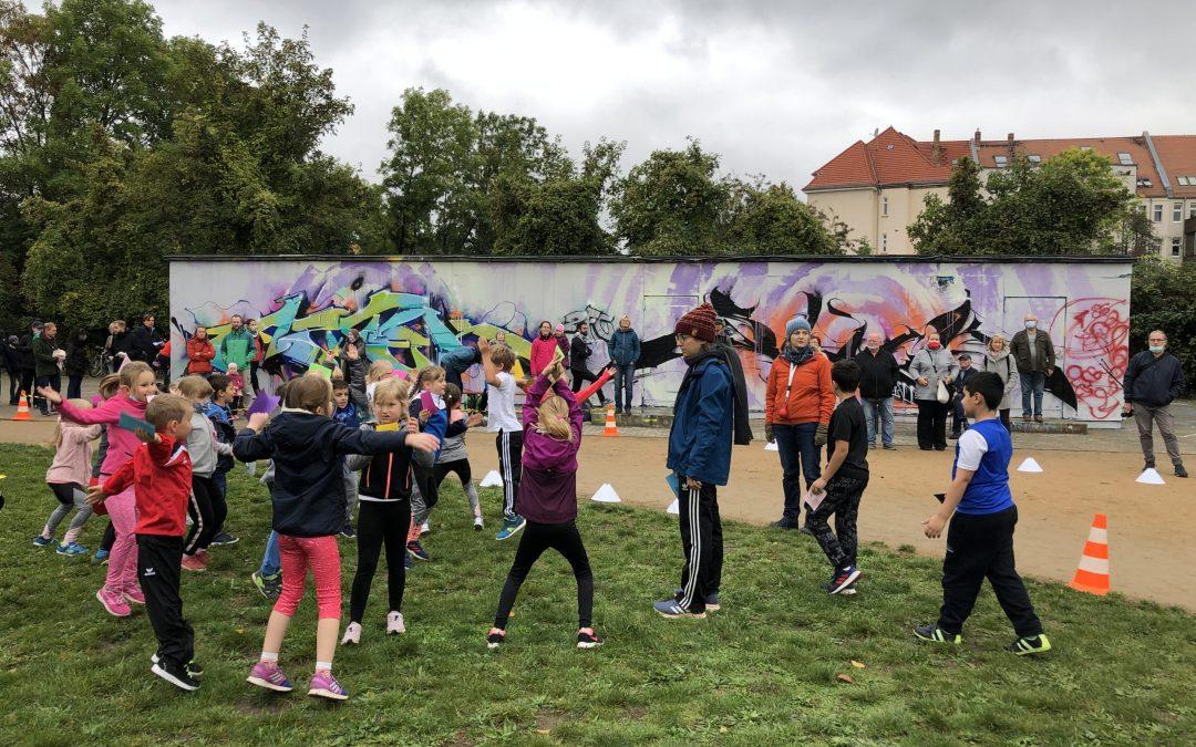 Gemeinsam mit der Erich Kästner-Schule: Ein erster Gohliser Spendenlauf