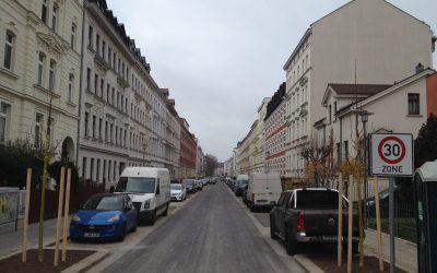 Gohliser Baugeschehen: Von neuen Fassaden bis zum Rigolenlehrpfad