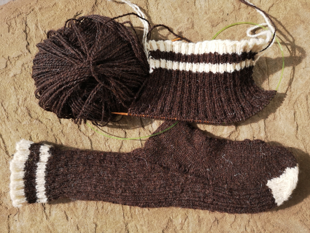 Refootable Socks And A Mending Culture Revival Go Homespun