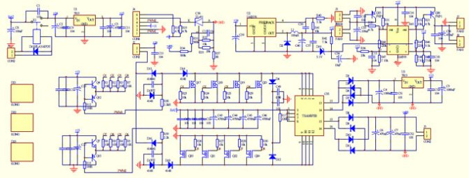 homemade 2000w power inverter with circuit diagrams  gohz
