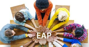 Link to information for E.A.P. resources, classes, addiction video, confidential hot line