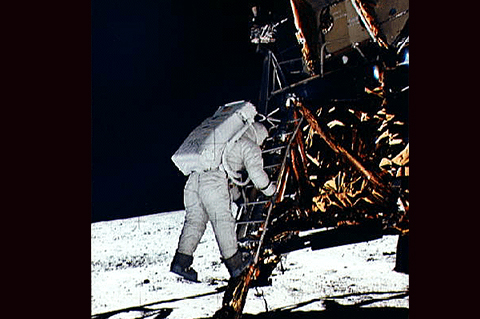Machinists' Part of the First Moon Walk, and Beyond