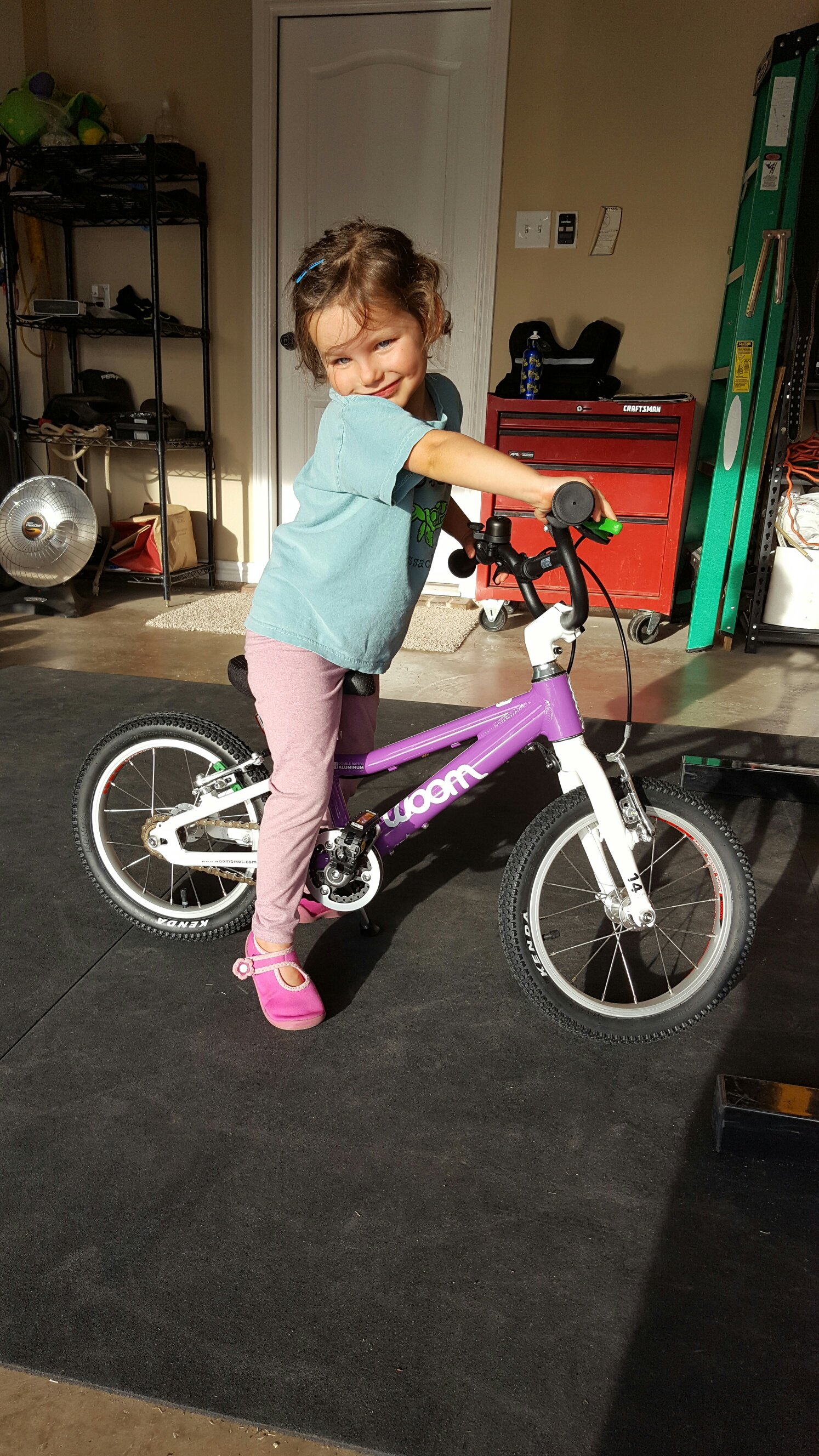 17ef07c3adb Riding Without Training Wheels: The WOOM 2 Transition - Going Dad