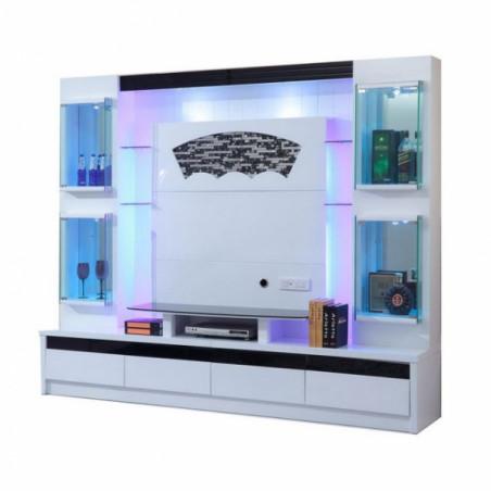 armoire de salon combinaison multi fonction