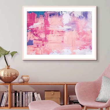 Abstract Wall Art Ideas To Refresh Your Home Space