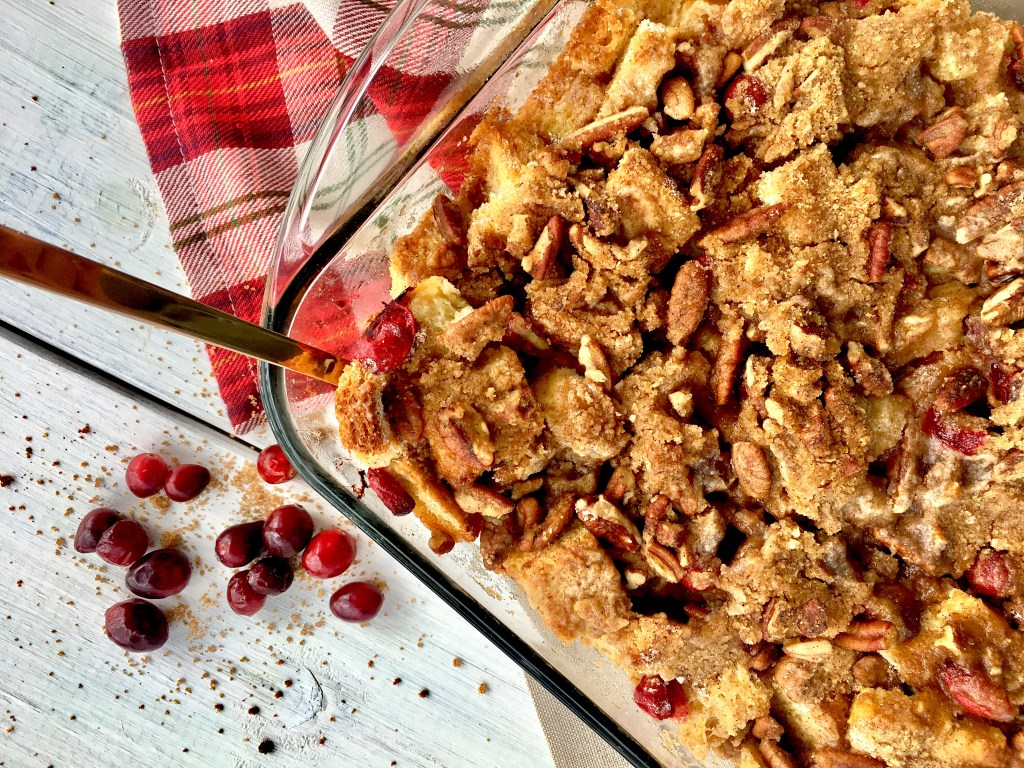 Cranberry French Toast Bake