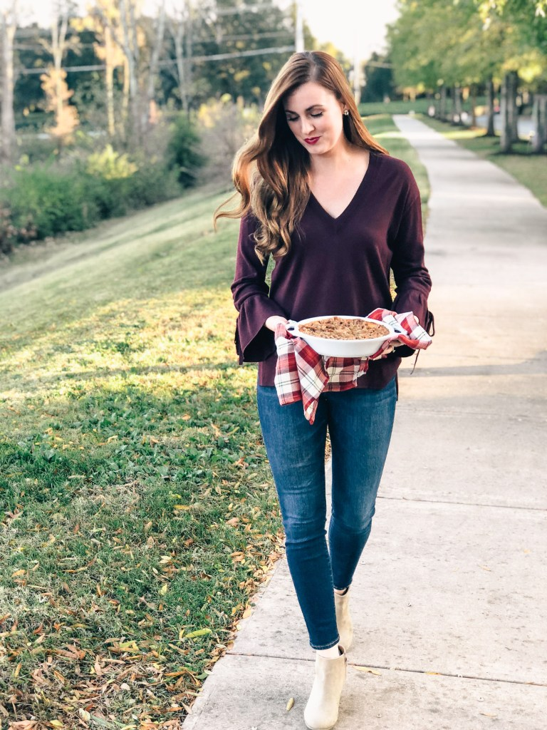 A Casual Thanksgiving Outfit