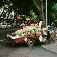 Fruit Stands in Chengdu