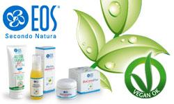 Eos Secondo Natura cosmetici naturali prodotti