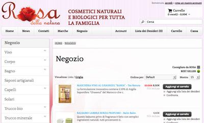 Shop online Rosa della Natura