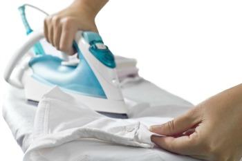 lavaggio ecologico del corredino stirare