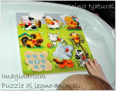 Imaginarium puzzle di legno animail