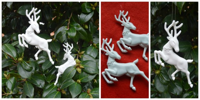 The Christmas Boutique - hanging reindeer Christmas decorations