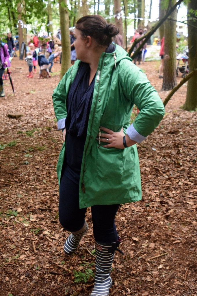 Lighthouse Parka with Joules wellies