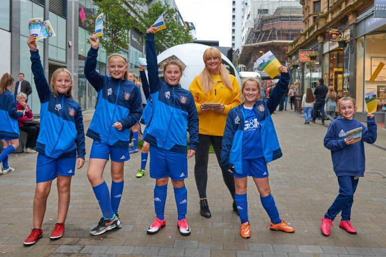 Farsley Celtic Girls FC - Aviva Community Fund