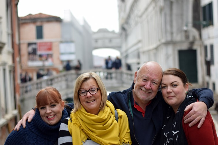 Family weekend in Venice