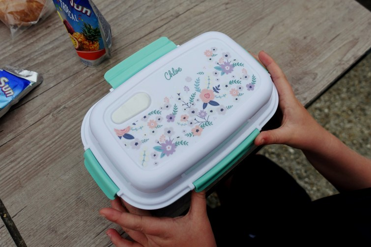 Petit-Fernand liberty print lunch box