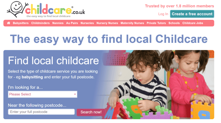 Childcare.co.uk - find you perfect childcare provider