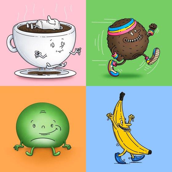 Food characters 2