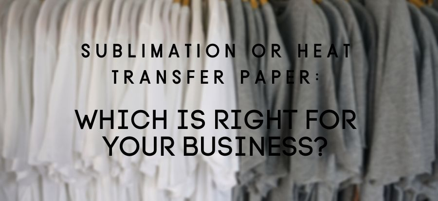 Sublimation or Heat Transfer Blog Header