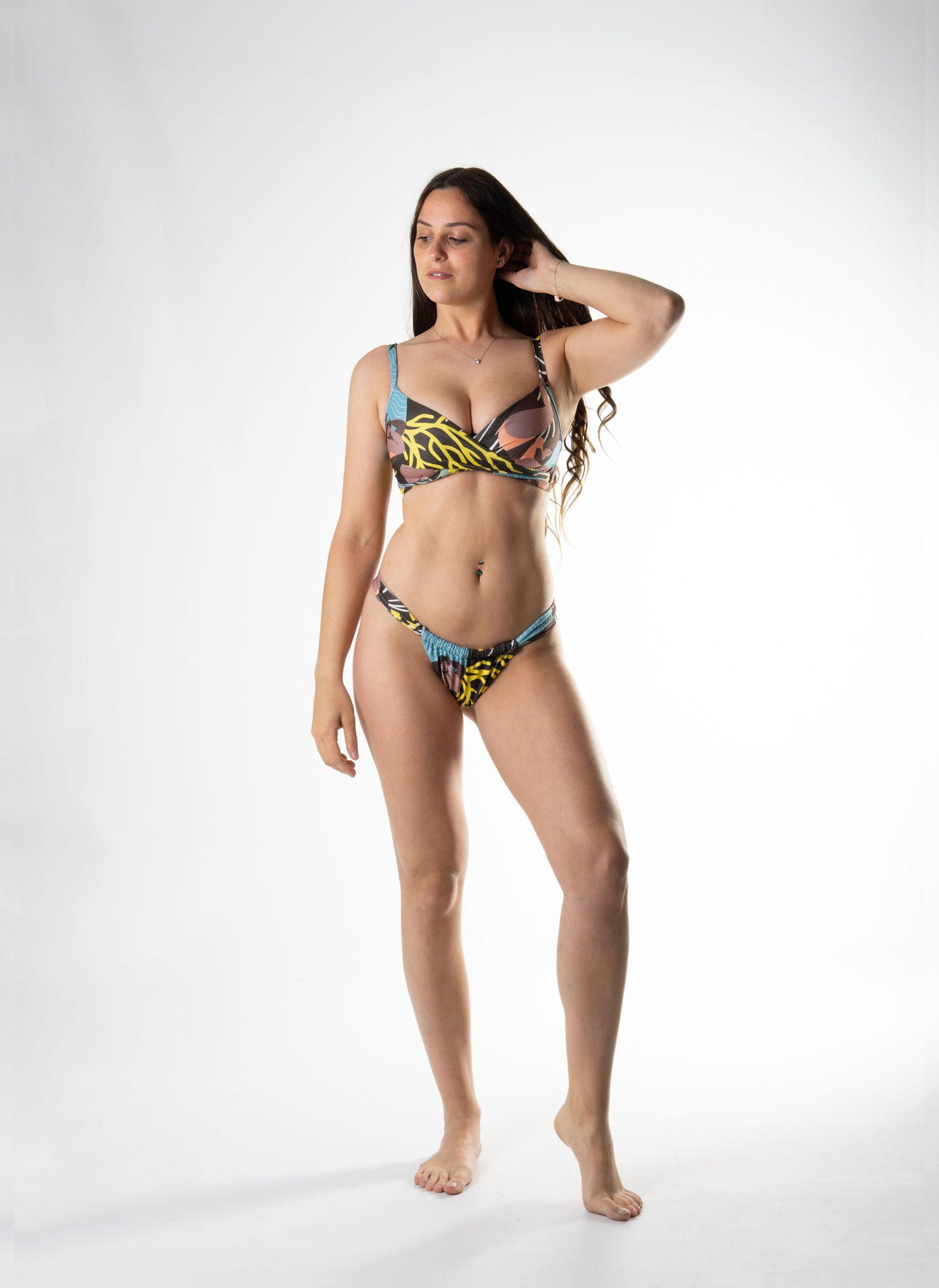 Bikini sujetador copa D