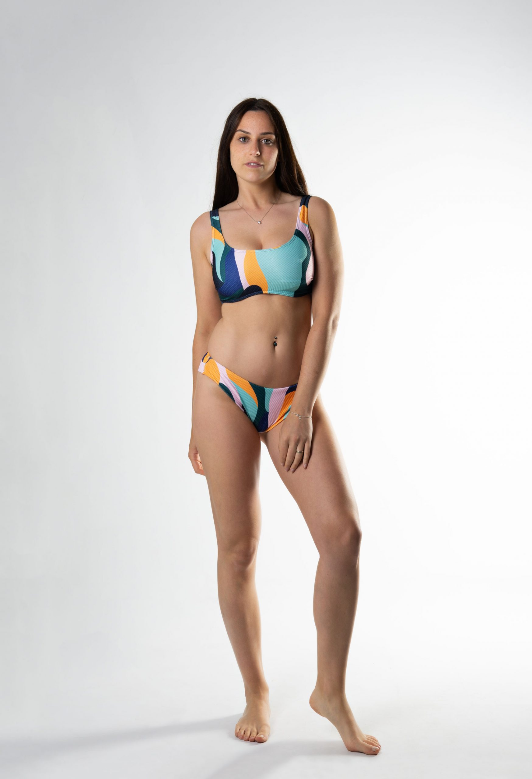 Sujetador bikini top copa D