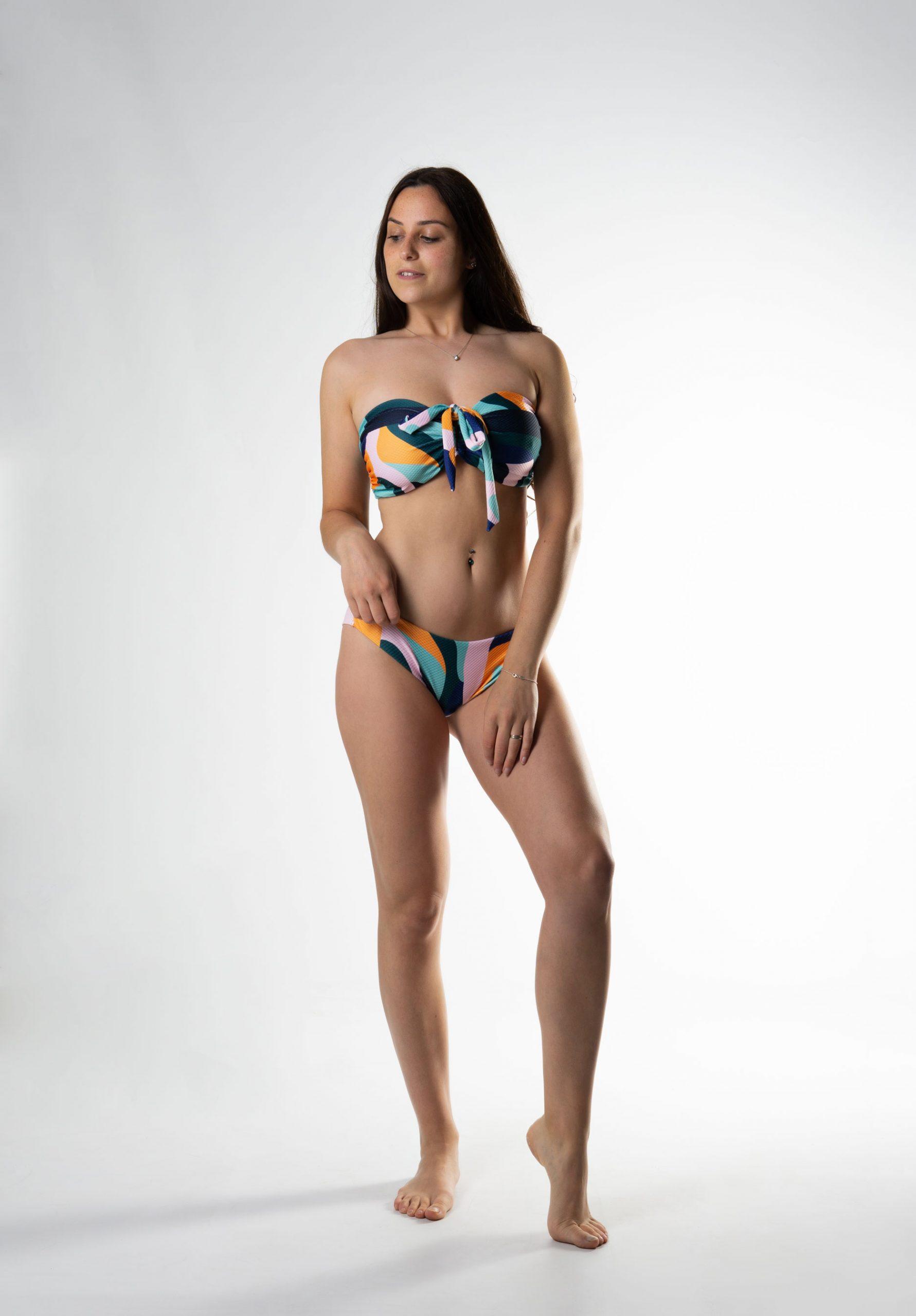 Sujetador copa E bikini bandeau